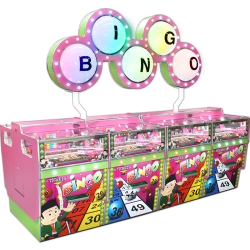 Bingo 8 Player 2p Pusher