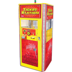 Ticket Station (Yellow/Red)