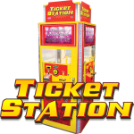 Ticket Station with Video/TV