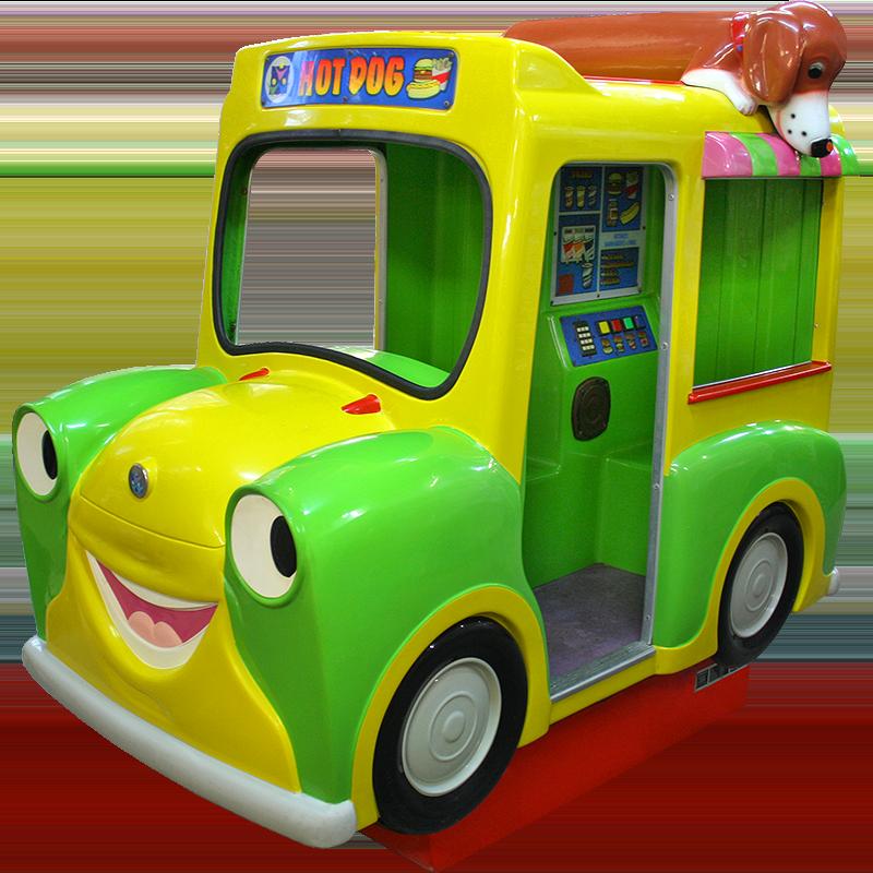 Hanks Hot Dog Truck Kiddie Ride