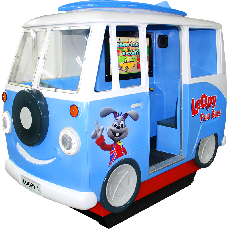 Loopy Fun Bus Kiddie Ride